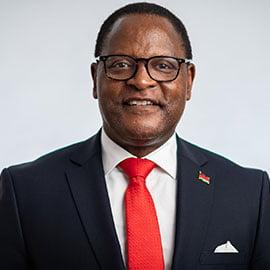 H.E President Lazarus Chakwera